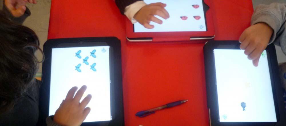 Doigtdecole : une petite section du bout des doigts