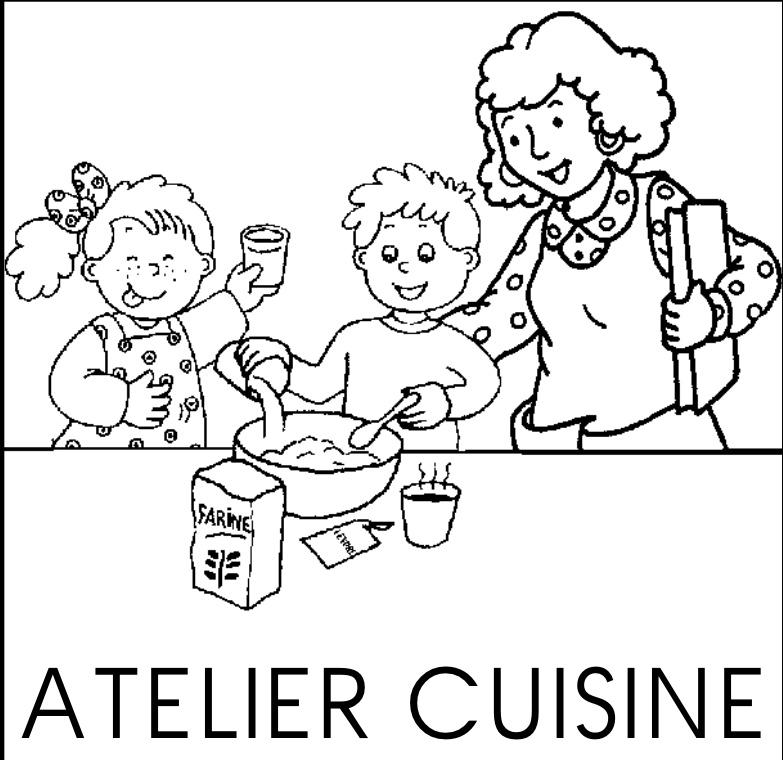 La recette cod e l 39 cole du bout des doigts - Atelier cuisine maternelle ...