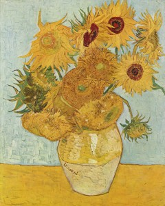 Vincent van Gogh_1888_Vase avec 12 tournesols_huile sur toile_91 x 72 cm